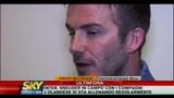David Beckham sulla sua convalescenza