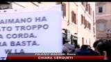 Intercettazioni, giornalisti in piazza contro ddl Alfano