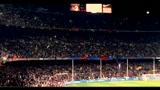 28/04/2010 - Champions League, Camp Nou per una notte casa del diavolo