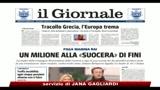 Berlusconi: solidarietà a Fini per attacco di Feltri