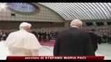 Napolitano al Papa: stiamo vivendo in tempi aspri e non facili