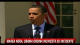 Marea nera, Obama ordina un'inchiesta sull'incidente