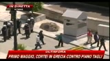 Primo maggio, cortei Grecia contro il piano tagli
