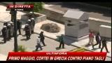 01/05/2010 - Primo maggio, cortei Grecia contro il piano tagli