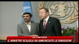Onu, Convegno nucleare, Ahmadinejad domina la scena
