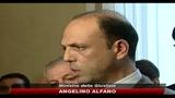 Dimissioni Scajola, Alfano: un gesto per rendere un servizio al paese