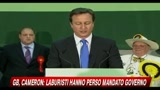 07/05/2010 - GB, Cameron, Laburisti hanno perso mandato governo