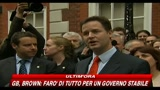 Elezioni GB, parla il leader Liberaldemocratico Clegg