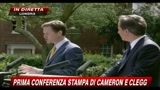 12/05/2010 - 1 - Prima conferenza stampa di Cameron e Clegg