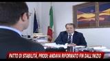 12/05/2010 - Patto di stabilità, Prodi: andava riformato sin dall'inizio
