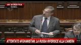 1 - Attentato Afghanistan, La Russa riferisce alla Camera