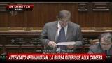 2 - Attentato Afghanistan, La Russa riferisce alla Camera