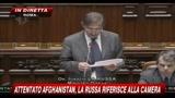 3 - Attentato Afghanistan, La Russa riferisce alla Camera