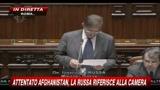 4 - Attentato Afghanistan, La Russa riferisce alla Camera