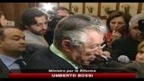 19/05/2010 - Federalismo, Bossi, oggi passo importante, ora in Cdm