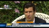 Champions League: intervista a Luis Figo