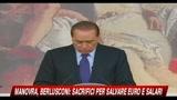 26/05/2010 - Manovra, Berlusconi: servono sacrifici
