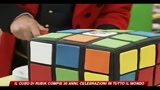 Il cubo di Rubik compie 30 anni, celebrazioni in tutto il mondo