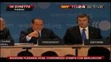 27/05/2010 - 4 Riunione plenaria OCSE, l'intervento di Berlusconi