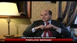 Manovra, Bersani: da governo spettacolo inverocondo