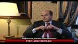 29/05/2010 - Manovra, Bersani: da governo spettacolo inverocondo