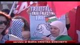 31/05/2010 - Migliaia di palestinesi in piazza contro l'attacco alla flottiglia