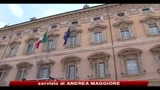 La manovra correttiva sbarca al Senato