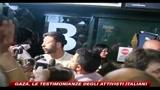 Gaza, le testimonianze degli attivisti italiani