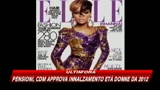 Rihanna, cover girl di Elle America