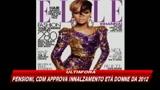 Rihanna, cover girl di Elle America