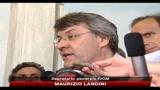 Fiat Pomigliano, Landini, non possiamo firmare accordo