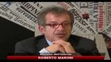 14/06/2010 - Sicurezza, Maroni: body scanner anche nelle stazioni