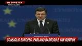 17/06/2010 - Consiglio Europeo, Barroso: tasse su banche e transazioni finanziarie