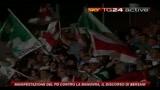 3 Manifestazione PD, il discorso di Bersani