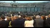 Verona, un affascinante Turandot incanta l'Arena