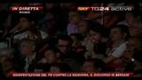 5 Manifestazione PD, il discorso di Bersani