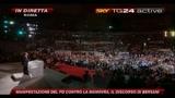 10 Manifestazione PD, il discorso di Bersani
