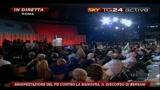 13 Manifestazione PD, il discorso di Bersani