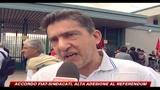 Accordo Fiat-sinadacati, alta adesione al referendum