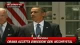23/06/2010 - Obama accetta dimissioni Gen. McChrystal