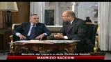 24/06/2010 - Pomigliano, Sacconi: difficile ipotesi New Company