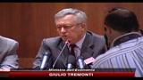 24/06/2010 - Tremonti: tagli spesa necessari per ridurre tasse