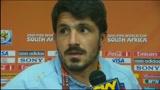 24/06/2010 - Intervista a Gattuso sul triste epilogo