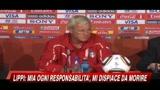 Conferenza stampa Lippi e delusione dei tifosi