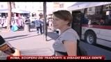 Roma, sciopero dei trasporti: il disagio della gente