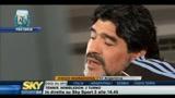 26/06/2010 - Maradona: Grande stima per l'italia e per Napoli
