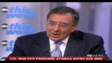 28/06/2010 - Cia: Iran può produrre l'atomica entro due anni