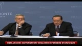 28/06/2010 - Berlusconi: Governatori vogliono difendere status quo