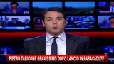 Pietro Taricone gravissimo dopo lancio in paracadute
