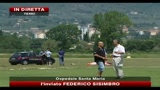 Gravissimo Pietro Taricone dopo lancio in paracadute